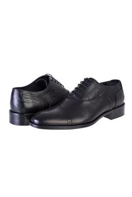 Erkek Giyim - Siyah 40 Beden Bağcıklı Klasik Ayakkabı