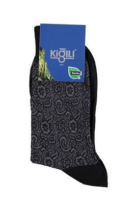 Erkek Giyim - Siyah 39 Beden Bambu Çorap
