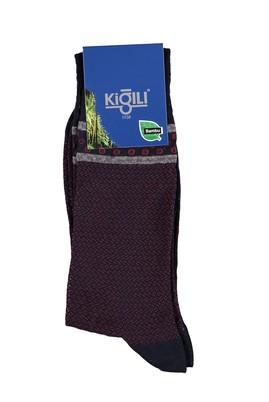 Erkek Giyim - Lacivert 39 Beden Bambu Çorap