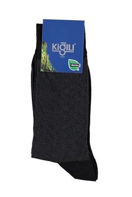 Erkek Giyim - Siyah 42 Beden Bambu Çorap