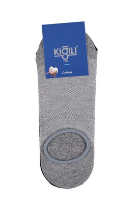 Erkek Giyim - Siyah 39 Beden 2'li Loafer Çorap