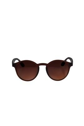 Erkek Giyim - Kahve STD Beden UV Korumalı Kemik Çerçeveli Güneş Gözlüğü