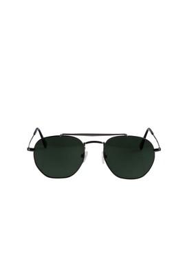 Erkek Giyim - Antrasit STD Beden UV Korumalı Metal Çerçeveli Güneş Gözlüğü