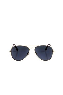Erkek Giyim - Sarı STD Beden Metal Çerçeveli Güneş Gözlüğü