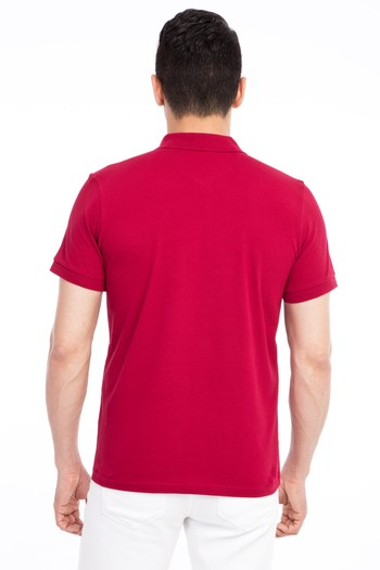Erkek Giyim - Polo Yaka Regular Fit Tişört