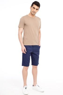 Erkek Giyim - Lacivert 48 Beden Spor Bermuda Şort