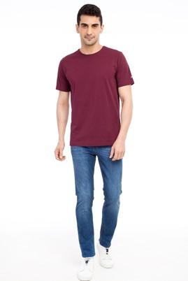 Erkek Giyim - Mavi 48 Beden Slim Fit Denim Pantolon