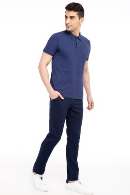 Erkek Giyim - Lacivert 50 Beden Denim Pantolon