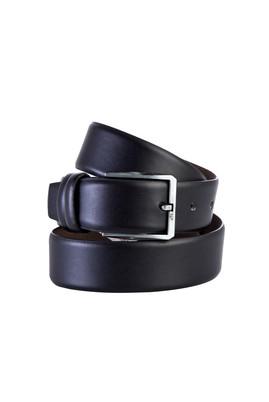 Erkek Giyim - Siyah 105 Beden Düz Klasik Kemer