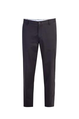 Erkek Giyim - Siyah 62 Beden Saten Spor Pantolon