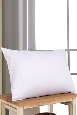 Erkek Giyim - Beyaz STD Beden Elyaf Yastık