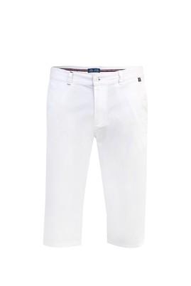 Erkek Giyim - Beyaz 56 Beden Spor Bermuda / Şort