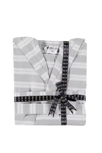 Erkek Giyim - Kimono Yaka Peştamal Bornoz