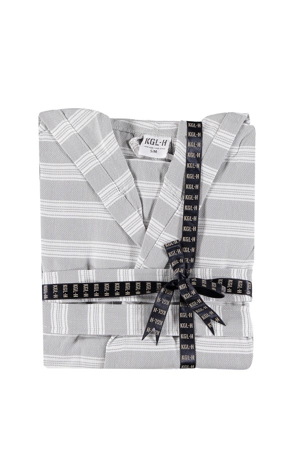Kimono Yaka Peştamal Bornoz