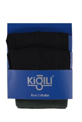 Erkek Giyim - Siyah XL Beden 2'li Süprem Boxer
