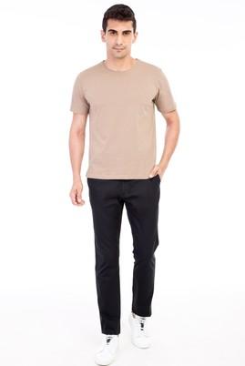 Erkek Giyim - Siyah 52 Beden Spor Pantolon