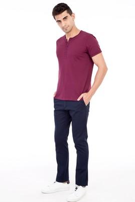Erkek Giyim - Lacivert 50 Beden Spor Pantolon