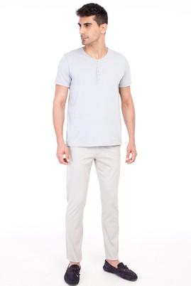Erkek Giyim - Kum 52 Beden Slim Fit Spor Pantolon