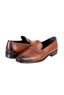 Erkek Giyim - TABA 42 Beden Casual Deri Ayakkabı