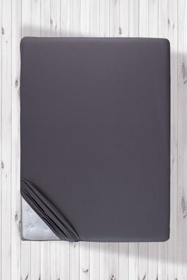 Erkek Giyim - Antrasit STD Beden 160x200 Fitted / Lastikli Çarşaf