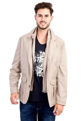 Erkek Giyim - Bej 48 Beden Mevsimlik Mont