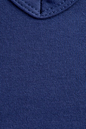 Erkek Giyim - V Yaka Slim Fit Düğmeli Tişört
