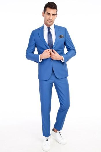 Erkek Giyim - Slim Fit Takım Elbise