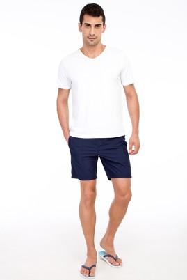 Erkek Giyim - Lacivert 48 Beden Deniz Şortu