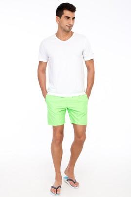 Erkek Giyim - Acık Yesıl 52 Beden Deniz Şortu