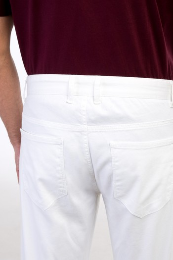 Erkek Giyim - Slim Fit Kuşgözü Pantolon