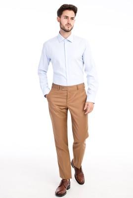Erkek Giyim - Açık Kahve - Camel 48 Beden Klasik Pantolon