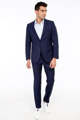 Erkek Giyim - Lacivert 54 Beden Klasik Takım Elbise
