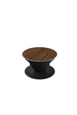 Erkek Giyim - Kahve STD Beden PopSockets Wood Telefon Tutacağı