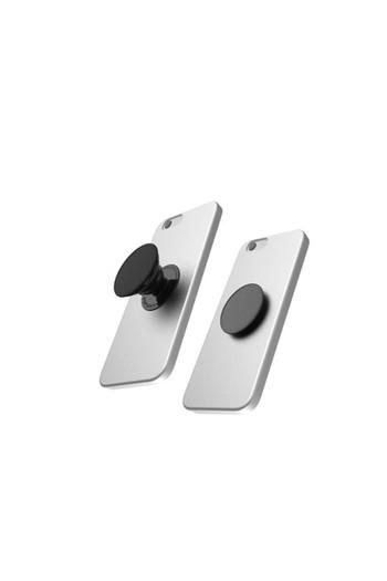 Erkek Giyim - PopSockets Metallic Saffiano Telefon Tutacağı