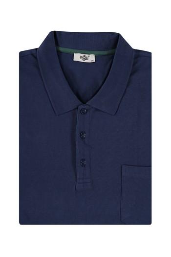 Erkek Giyim - King Size Polo Yaka Regular Fit Tişört