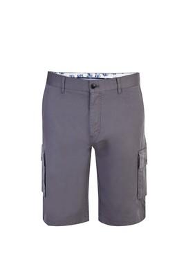 Erkek Giyim - Antrasit 54 Beden Spor Bermuda Şort