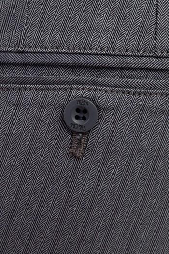 Erkek Giyim - Slim Fit Balıksırtı Spor Pantolon