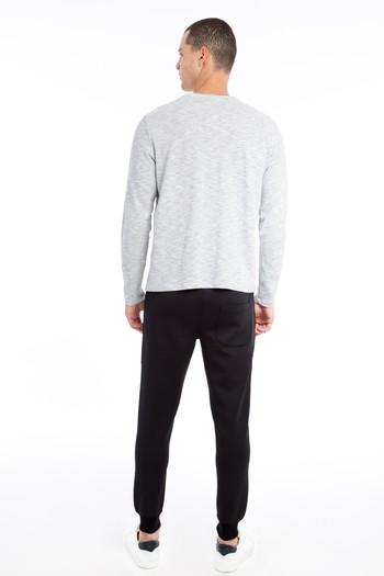 Erkek Giyim - Slim Fit Scuba Jogger Pantolon / Eşofman