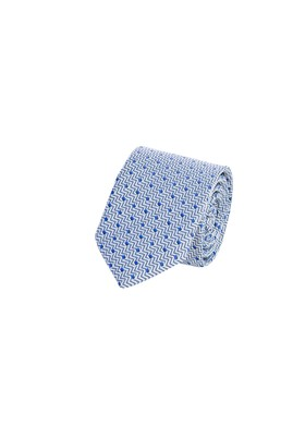 Erkek Giyim - Mor 70 Beden Desenli Kravat