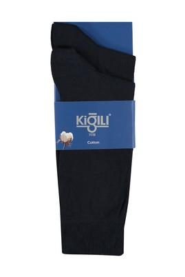 Erkek Giyim - Lacivert 39 Beden 2'li Düz Çorap