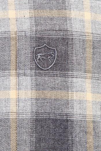 Erkek Giyim - Uzun Kol Ekose Flanel Gömlek
