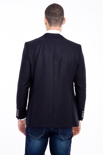 Erkek Giyim - Kuşgözü Blazer Ceket