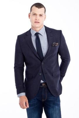 Erkek Giyim - Mor 48 Beden Kuşgözü Ceket