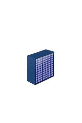 Erkek Giyim - Mavi STD Beden TimeBox-Mini / Pixel Art Smart Bluetooth Hoparlör