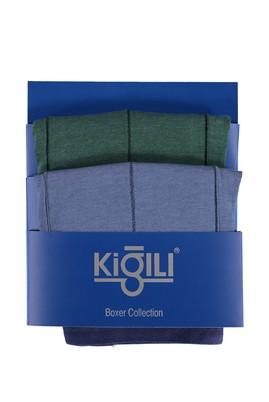 Erkek Giyim - Açık Mavi 3X Beden 2'li Süprem Boxer