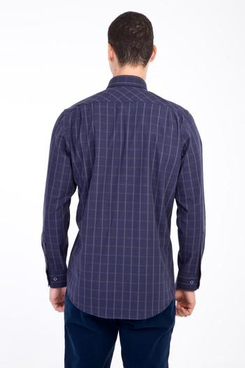 Erkek Giyim - Uzun Kol Flanel Gömlek