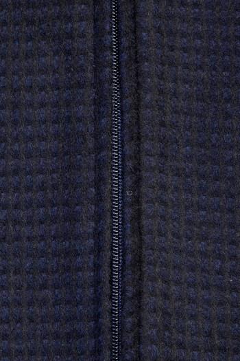 Erkek Giyim - Klasik Yünlü Mont