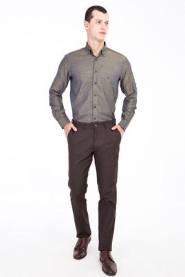 Erkek Giyim - Kahve 52 Beden Kuşgözü Spor Pantolon