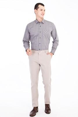 Erkek Giyim - Bej 50 Beden Spor Pantolon