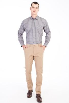 Erkek Giyim - Açık Kahve - Camel 48 Beden Spor Pantolon